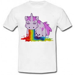 T-shirt donna Unicorno Color