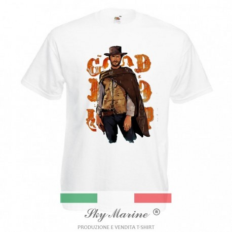 T-shirt uomo Clint Eastwood