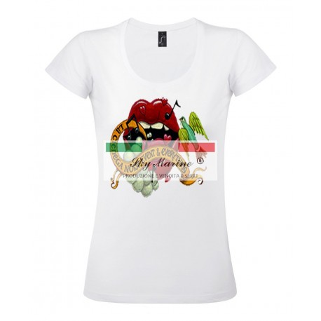 T-shirt donna ASTRATTO